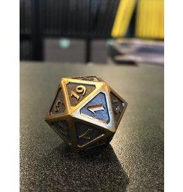 Life Counter DIRE D20 - MYTHICA BATTLEWORN GOLD