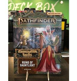 Pathfinder 2E PF163 ABOMINATION VAULTS 1: RUINS OF  GAUNTLIGHT