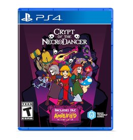 PS4 CRYPT OF THE NECRODANCER  (PS4)(NEW) (PREORDER Expected April 9)