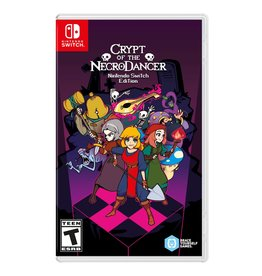 Switch CRYPT OF THE NECRODANCER  (SWITCH)(NEW) (PREORDER Expected April 9)
