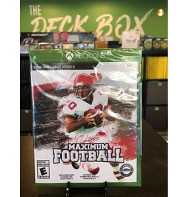 Xbox One DOUG FLUTIES MAXIMUM FOOTBALL 2020  (XBONE)(NEW)