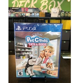 PS4 MY UNIVERSE PET CLINIC CATS & DOGS  (PS4)(NEW)