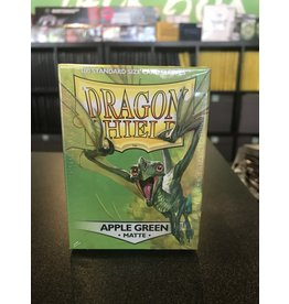 Dragon Shield DRAGON SHIELD SLEEVES MATTE APPLE GREEN 100CT