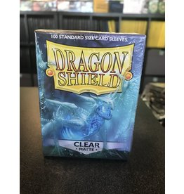 Dragon Shield DRAGON SHIELD SLEEVES MATTE CLEAR 100CT