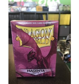 Dragon Shield DRAGON SHIELD SLEEVES MATTE MAGENTA 100CT