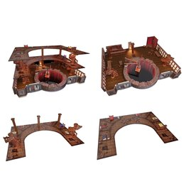 Dungeons and Dragons DND ICONS: THE YAWNING PORTAL INN PREMIUM SET (PREORDER EXPECTED April 15)