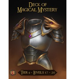 5E Compatible Books DECK OF MAGICAL MYSTERY: TIER 4 (PREORDER EXPECTED December 31)