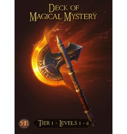 5E Compatible Books DECK OF MAGICAL MYSTERY: TIER 1 (PREORDER EXPECTED December 31)