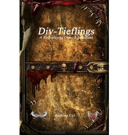 5E Compatible Books DIV-TIEFLINGS RPG SUPPLEMENT (PREORDER EXPECTED April 15)