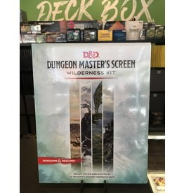 Dungeons & Dragons DND RPG DUNGEON MASTER'S SCREEN WILDERNESS KIT