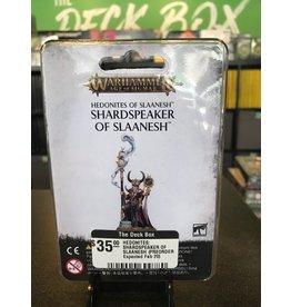 Age of Sigmar HEDONITES: SHARDSPEAKER OF SLAANESH