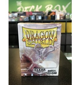 Dragon Shield DRAGON SHIELD SLEEVES MATTE CLEAR NON-GLARE 100CT