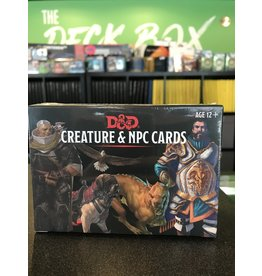 Dungeons & Dragons DND CREATURE AND NPC CARDS