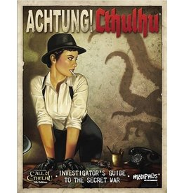 2D20 System ACHTUNG! CTHULHU:INVESTIGATORS GUIDE SECRET WAR 7E (PREORDER EXPECTED March 15)