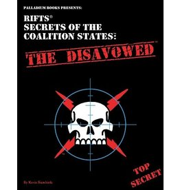 Rifts RIFTS SECRETS OF COALITION STATES: THE DISAVOWED (PREORDER EXPECTED May 15)