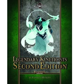 Pathfinder Compatible LEGENDARY KINETICISTS (PF) SECOND EDITION (PREORDER EXPECTED April 15)