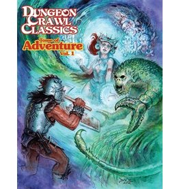 Role Playing Games DCC TOME OF ADVENTURE VOL 01 HC (PREORDER EXPECTED March 15)