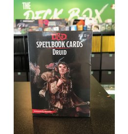 Dungeons & Dragons DND SPELLBOOK CARDS DRUID 2ND EDITION