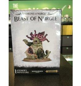 Age of Sigmar Beast of Nurgle