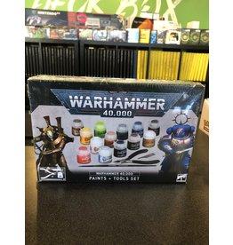 Warhammer 40K 40K Paints + Tools Set