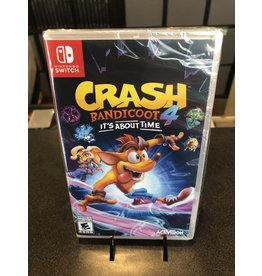 Switch CRASH BANDICOOT 4: IT'S ABOUT TIME (SWITCH)(NEW)