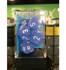 7-Die Set FROSTED 7-DIE SET BLUE/WHITE