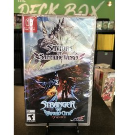 Switch SAVIORS OF SAPPHIRE WINGS & STRANGER OF SWORD CITY REVISITED  (SWITCH)(NEW)