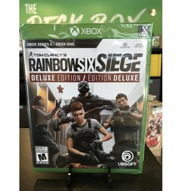 Xbox One RAINBOW SIX SIEGE DELUXE EDITION (XBONE)(NEW)