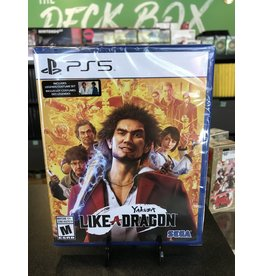 PS5 YAKUZA LIKE A DRAGON  (PS5)(NEW)