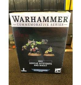 Warhammer 40K Gorzag Gitstompa and Nikkit