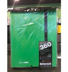 9 Pocket Binder UP BINDER PRO 9PKT LIME GREEN