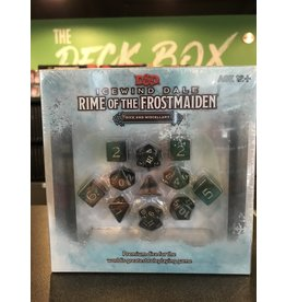 D&D Dice ICEWIND DALE RIME OF THE FROSTMAIDEN DICE SET