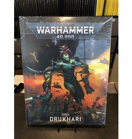 Warhammer 40K CODEX: DRUKHARI (HB)