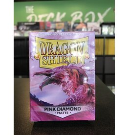 Dragon Shield DRAGON SHIELD SLEEVES MATTE PINK DIAMOND 100CT