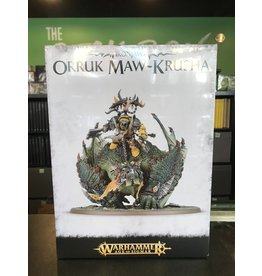 Age of Sigmar Megaboss on Maw-krusha / Gordrakk, Fist of Gork