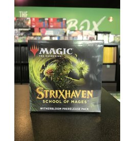 Magic STRIXHAVEN TAKE HOME PRERELEASE: WITHERBLOOM
