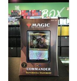 Commander MTG STRIXHAVEN COMMANDER SILVERQUILL STATEMENT