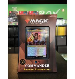 Commander MTG STRIXHAVEN COMMANDER PRISMARI PERFORMANCE