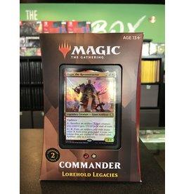 Commander MTG STRIXHAVEN COMMANDER LOREHOLD LEGACIES