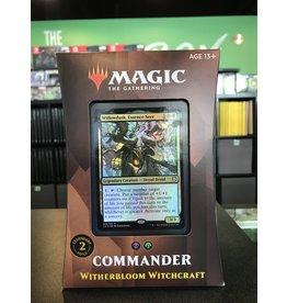 Commander MTG STRIXHAVEN COMMANDER WITHERBLOOM WITCHCRAFT