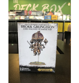 Age of Sigmar Brokk Grungsson, Lord-Magnate of Barak-Nar