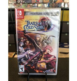 Switch THE LEGEND OF HEROES TRAILS OF COLD STEEL 4 FRONTLINE ED  (SWITCH)(NEW)