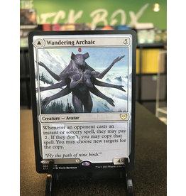 Magic Wandering Archaic // Explore the Vastlands  (STX)