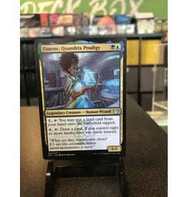 Magic Zimone, Quandrix Prodigy  (STX)