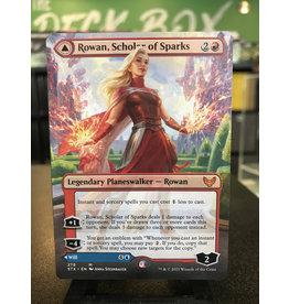 Magic Rowan, Scholar of Sparks // Will, Scholar of Frost  (STX)  (Borderless)