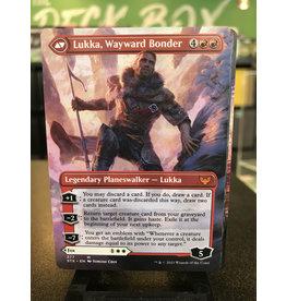 Magic Mila, Crafty Companion // Lukka, Wayward Bonder  (STX)  (Borderless)