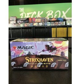 Magic MTG JAPANESE STRIXHAVEN SET BOOSTER BOX
