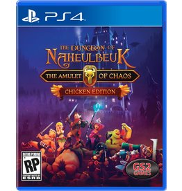 PS4 THE DUNGEON OF NAHEULBEUK THE AMULET OF CHAOS (PS4)(NEW)  (PREORDER EXPECTED  June 11)
