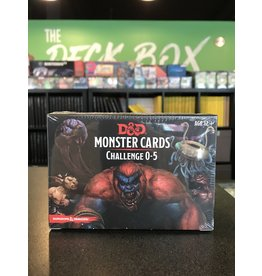 Dungeons & Dragons DND MONSTER CARDS: CHALLENGE 0-5
