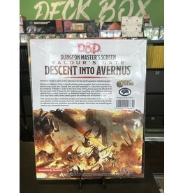 Dungeons & Dragons DND DM SCREEN BALDUR'S GATE DESCENT INTO AVERNUS